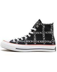 3d7454e860b1 Converse X Jw Anderson Thunderbolt Denim Low Top Shoe in Blue for ...