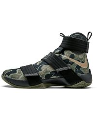 c2b164d1c77 Lyst - Nike Lebron Soldier 10 in Black for Men