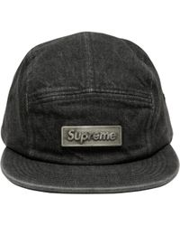 Supreme - Metal Plate Camp Cap - Lyst