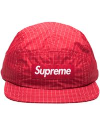 Supreme - Contrast Ripstop Camp Cap - Lyst