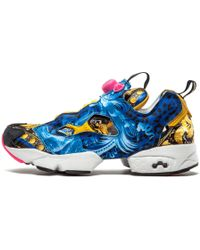 Lyst - Vetements Women s Fluo Instapump Fury Sneakers - Pink - Size ... 253d849b4