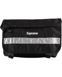 a372255b Supreme Lacoste Waist Bag in Black for Men - Lyst
