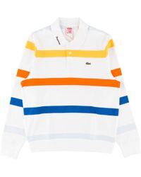 Supreme - Lacoste L/s Jersey Polo - Lyst