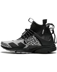 a221f4f4a9d0 Lyst - Nike X Acronym Air Presto Mid Cool Grey  Black in Gray for Men