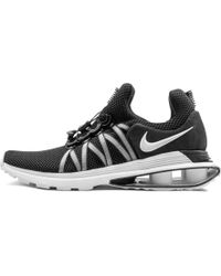 f675e080bcb Lyst - Nike Shox Nz Eu White black white Running Shoe 14 Men Us in ...