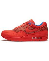 f2e7cf8b58 Nike - Womens Air Max 1 'wmns Safari-challenge Red' - Size 10.5