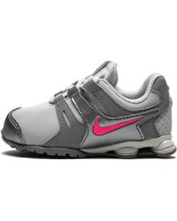 a36d4101c66 Lyst - Nike Shox Nz in Metallic