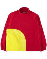Supreme - Corner Arc Half Zip Pullover - Lyst