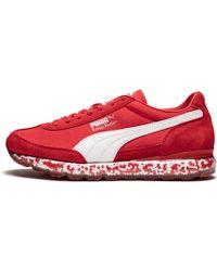 10b094ed437e Lyst - PUMA Easy Rider Mesh Wn Sneaker in Red