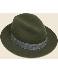 The Hill-side - Wool Felt Hat - Loden Green - Lyst