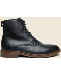 Shoe The Bear - Ned Leather Lace-up Boot - Black - Lyst