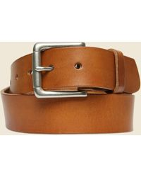 Billykirk - Nickel Roller Bar Belt - Tan - Lyst