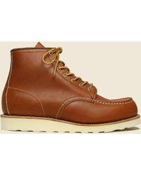 "Red Wing - 6"" Moc Toe No. 875 - Oro Legacy - Lyst"