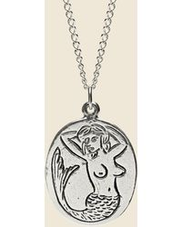 LHN Jewelry - Mermaid Necklace - Sterling Silver - Lyst