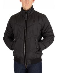 G-Star RAW - Whistler Meefic Quilted Bomber Jacket - Lyst