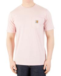 Carhartt WIP - Sandy Rose Pocket T-shirt - Lyst