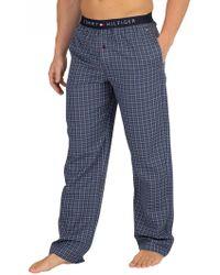 Tommy Hilfiger - Blue Heaven Woven Pyjama Bottoms - Lyst