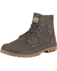 Palladium - Major Brown/gum Pallabrouse Wax Boots - Lyst