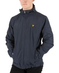 Lyle & Scott Lyle And Scott Micro Fleece Lined Festival Jacket