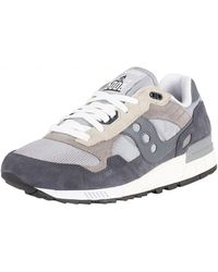 3b593f3e7415 Saucony - Grey ebony Shadow 5000 Vintage Trainers - Lyst