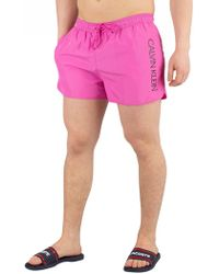 b7175c1320 Calvin Klein Swimwear - Men's Swimming Trunks & Boardshorts - Lyst