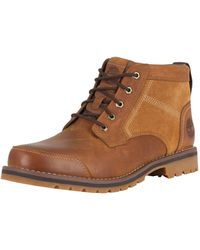 Timberland - Brown Larchmont Chukka Leather Boots - Lyst