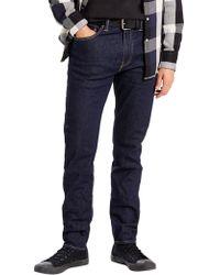 Levi's - Chain Rinse 512 Slim Taper Fit Jeans - Lyst