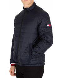 Tommy Hilfiger - Sky Captain Reversible Nylon Down Jacket - Lyst