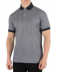 Tommy Hilfiger - Sky Captain Printed Undercollar Polo Shirt - Lyst
