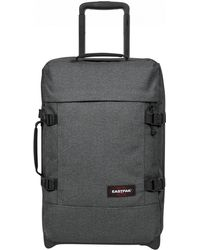 Eastpak - Black Denim Tranverz S Cabin Luggage - Lyst