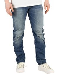 cb741a10bed G-Star RAW Arc 3d Slim Jeans Upcycle Denim in Blue for Men - Lyst