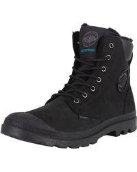 Palladium - Black/black Pampa Sport Wps Boots - Lyst