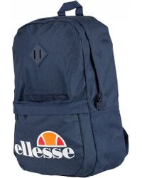 Ellesse - Duel Backpack With Logo In Navy - Lyst