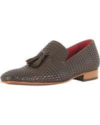 Jeffery West - Pasado Dark Brown/toledo Dark Brown Jung Leather Shoes - Lyst