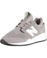 New Balance - Grey 247 Trainers - Lyst