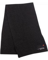 Superdry - Black Charcoal Grit Orange Label Scarf - Lyst