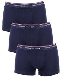 Tommy Hilfiger - Peacoat 3 Pack Premium Essentials Trunks - Lyst