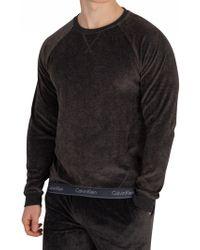 Calvin Klein - Washed Black Limited Edition Sweatshirt - Lyst