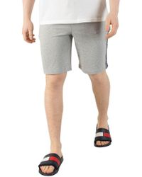 Tommy Hilfiger - Grey Heather Tapping Sweat Shorts - Lyst