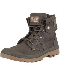 Palladium - Major Brown/gum Pallabrouse Baggy Wax Boots - Lyst