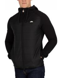 Ellesse - Anthracite Staggio Jacket - Lyst