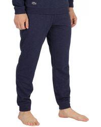 Lacoste - Blue Pyjama Bottoms - Lyst
