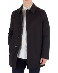 Aquascutum - Navy Berkeley Raincoat - Lyst