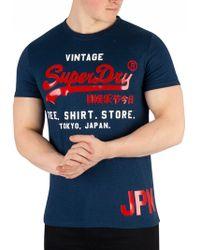 Superdry - Shirt Shop Duo Tee Short Sleeve T-shirt - Lyst