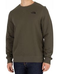 The North Face - New Taupe Green Street Sweatshirt - Lyst