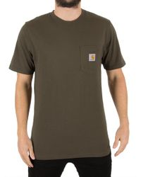 Carhartt WIP - Cypress Pocket T-shirt - Lyst