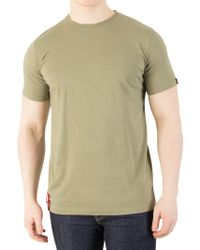 Alpha Industries - Olive Blood Chit T-shirt - Lyst