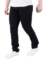 Carhartt WIP - Black Rebel Slim Tapered Jeans - Lyst
