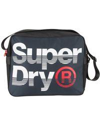 Superdry - Navy/optic Premium Lineman Messenger Bag - Lyst