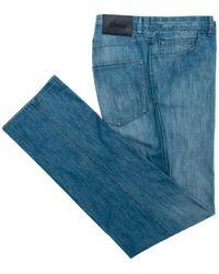 Brioni | Blue 5 Pocket Denim | Lyst